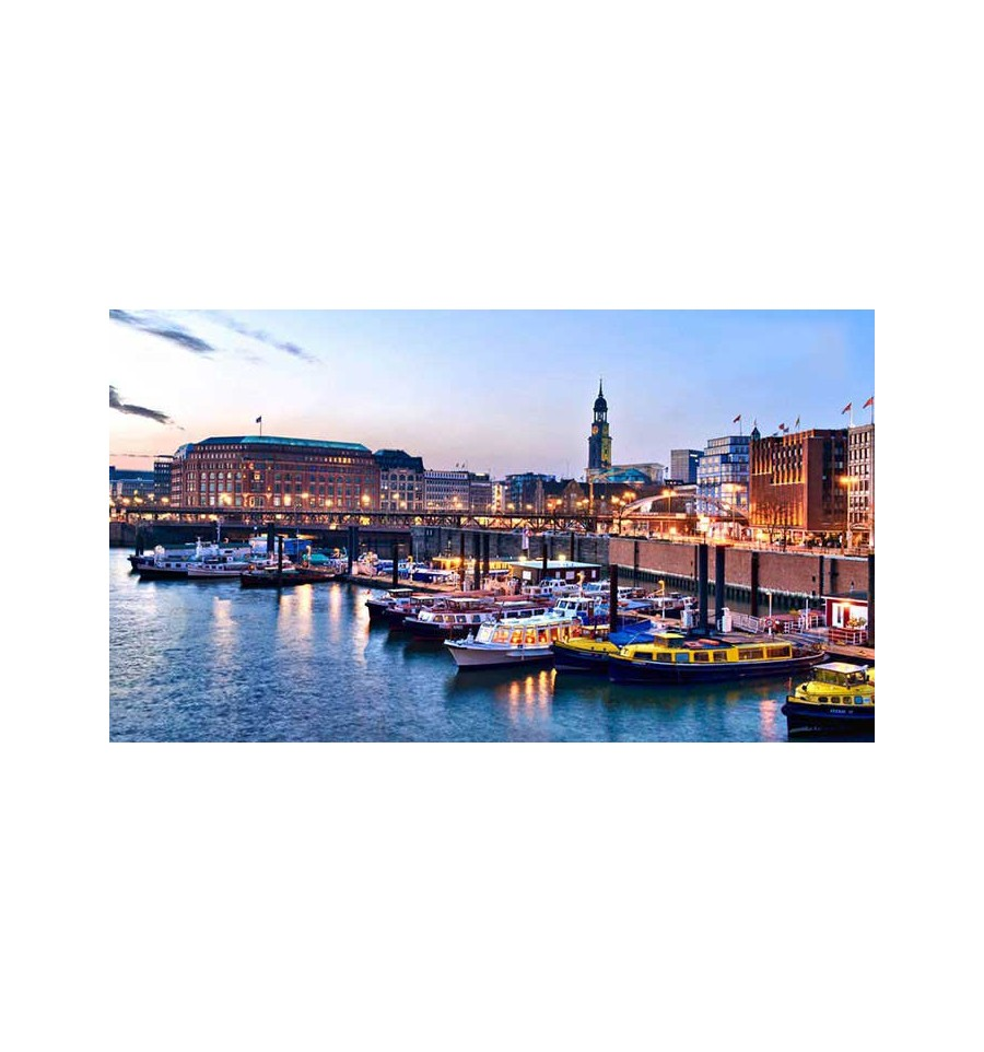 Hamburg 4 dages weekend get away for 2 personer inkl for Get away for the weekend