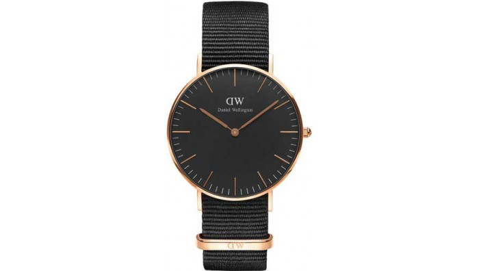 Daniel Wellington Classic Black Cornwall 36mm DW00100150