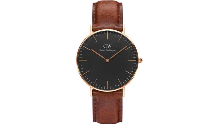Daniel Wellington Classic Black St. Mawes 36mm DW00100136