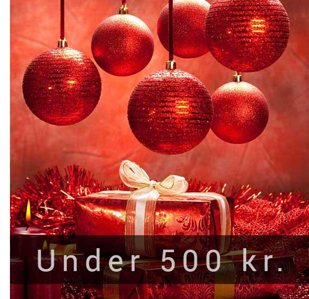 Julegaver under 500 kr - Til ham og hende