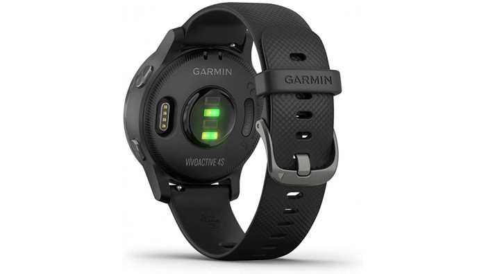 Garmin Vivoactive 4S GPS Smart Watch – Sort/Grå