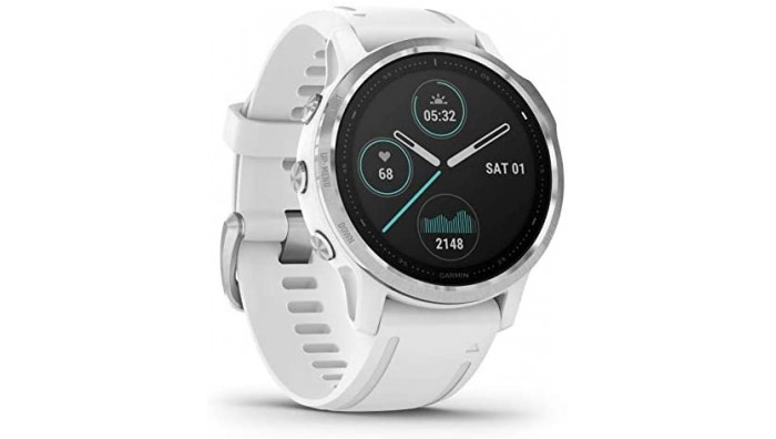 Garmin Fenix 6S 010-02159-00 Multisport Smart Watch – Hvid/Sølv