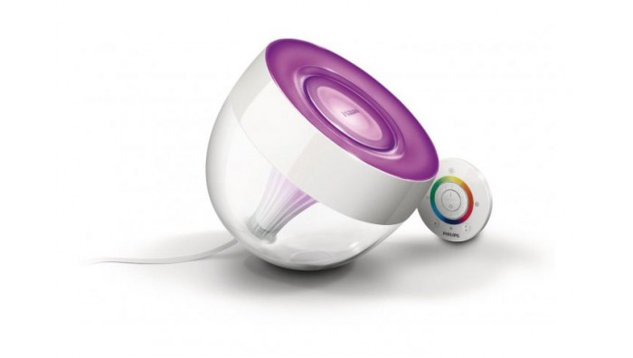 Philips Living Colors lampe med energisparende LED teknologi