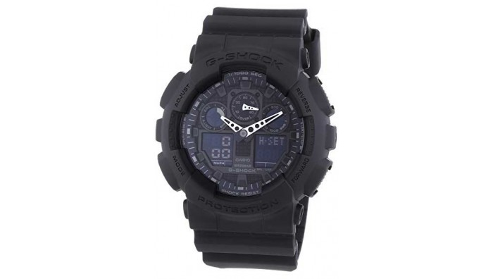 Casio G-Shock Herreur – GA-100-1A1ER - Sort