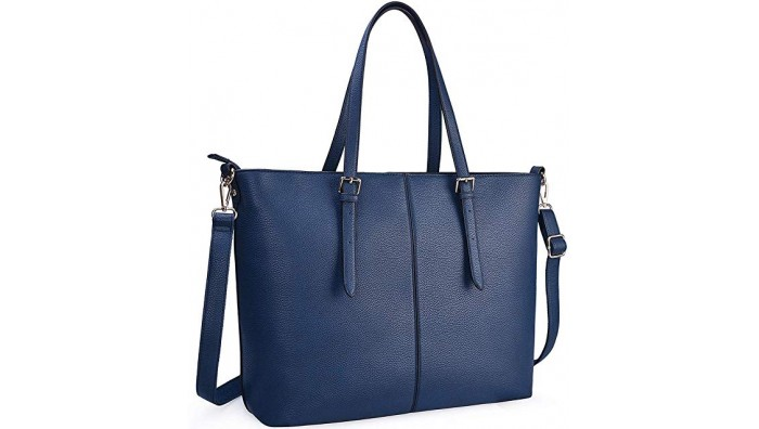 Stilfuld Dame Laptop Taske - Shopper Model