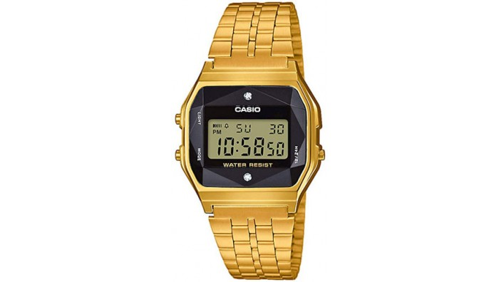 Casio Dameur Guld A159WGED-1EF  Diamond Edition